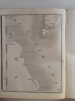 Mull Of Kintyre 1794 Cary's Antique Map Cambelton Ballycastle Larne Knockbean