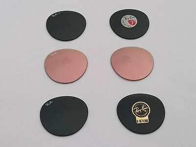 New RayBan Replacement lenses RB3447 / RB3532 Round 100% Authentic 50mm