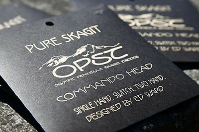 OPST Commando Pure Skagit Heads 200gr.,New! FREE Shipping In USA