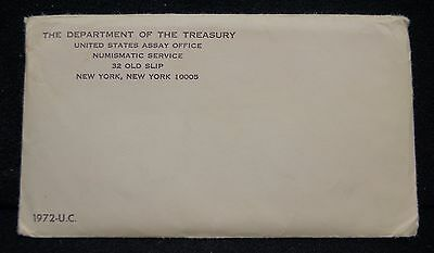 1972 P D S Uncirculated 11-Coin Mint Set, With Kennedy 50c Half Dollar