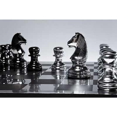 Kare Giant Monochrome Chess Set PIECES ONLY NO BOARD SALE sale