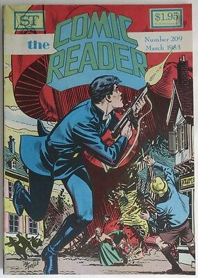 1983 The Comic Reader #209  -  F                     (Inv11672)