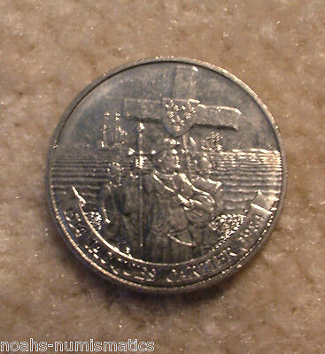 WOW!!! 1534 1984 Canada Nickel One Dollar Jacques Cartier Canadian $1 Circulated