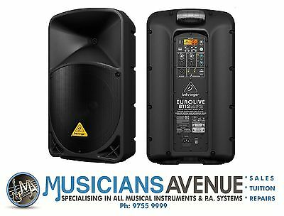 Behringer EUROLIVE B112MP3 Active PA Speaker & MP3 Player