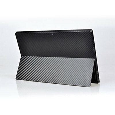 NEW Carbon Fiber Sticker Decals Protector for Microsoft Surface Pro Tablet HOT
