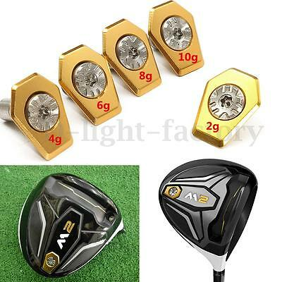 2g/4g/6g/8g/10g Golf Weight With Screw Replacement For Taylormade M2 Driver New