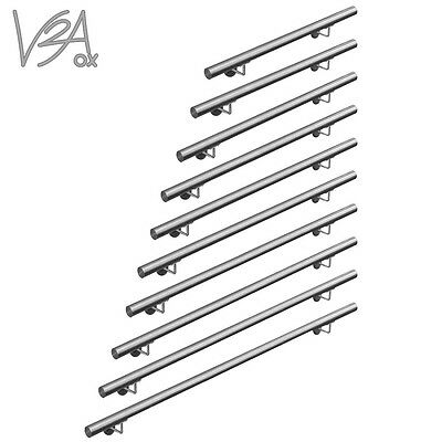 Stainless Steel 304 Stair Handrail Quality Satin Brushed grade 50-200 cm V2Aox