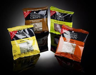 Yorkshire Crisps Bags 40g x 24 per box ALL FLAVOURS AVAILABLE