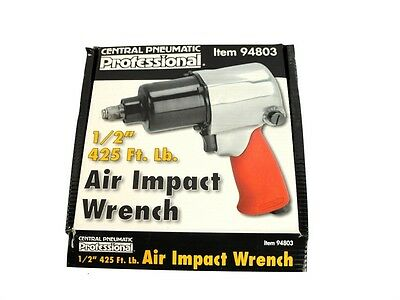 """Central Pneumatic Air Impact Wrench 1/2"""""""