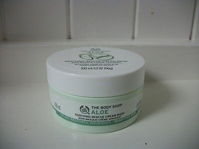 The Body Shop 100ml Aloe Soothing Rescue Cream Mask
