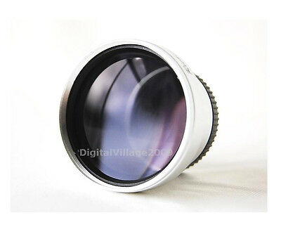 30mm 2.0X Telephoto Conversion Converter Lens for Digital Video Camera Camcorder