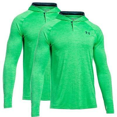 2er Pack Under Armour Überzieh-Hoodie Grün Set UA Tech Pullover Sweatshirt