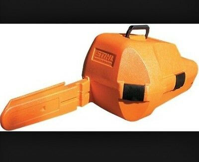 "STIHL HARDCOVER PROTECTIVE CHAINSAW CARRYCASE. All Models Up To MS381 20"" Bars"