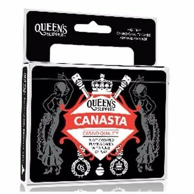 1 x Pack Queens NEW Canasta Double Deck Casino Quality Playing Cards 54516