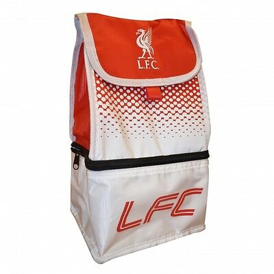 Liverpool Fc 'Fade' Dual Compartment Football Premium Lunch Bag Official Gift