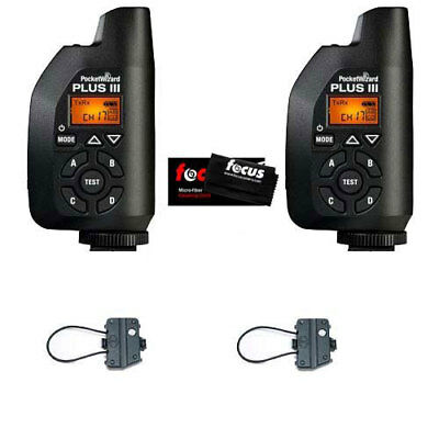 PocketWizard Plus III Transceivers (2 Pcs.) + Accessory Kit