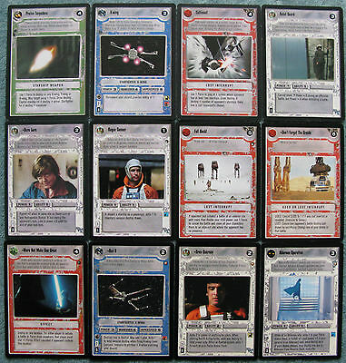 Star Wars CCG Bulk lot of 160 Cards