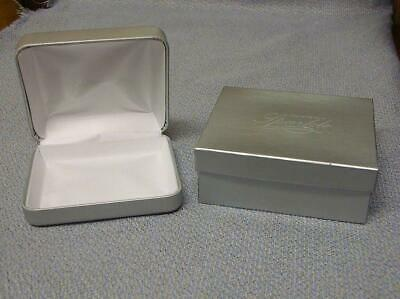 JCPenney Silver Necklace Box W/O Necklace Cushion Gift Box