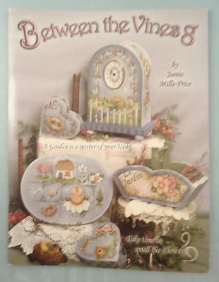 Between the Vines 8 Tole decorative painting Folk Art painting patterns Book