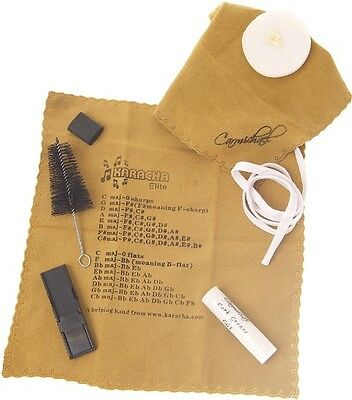 Alto Saxophone Care Kit - 6 Piece Kit Cleaning and Care Kit by Carmichael