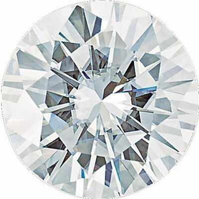 0.80CT Forever One Moissanite Loose Stone Round Cut 6mm