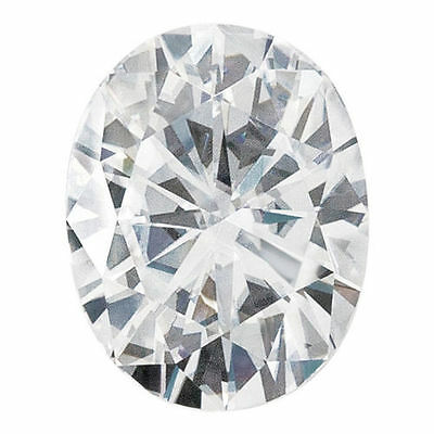 2.10CT Forever One Moissanite White Oval Loose Stone 9X7mm Charles & Colvard
