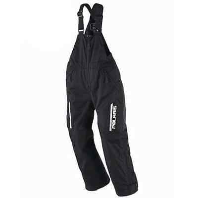 Polaris™ Youth Insulated Winter Snowmobile Bibs / Pants - Black - 2865033_