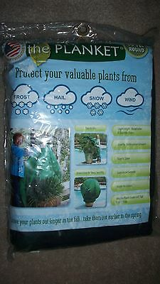 the Planket 10 ft Round Frost Protection Plant Cover Frost, Hail, Snow Brand New