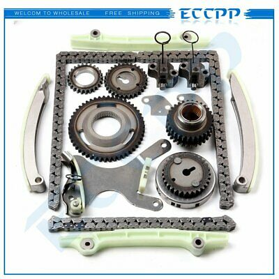 Timing Chain Kit (JTEC) Fit 99-02 Dodge Ram 1500 Durango Dakota Jeep 4.7L