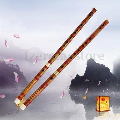 Chinese Bamboo Flute Soprano Dizis In D/G Key Traditional Musical Instrument