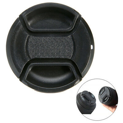 49mm Front Lens Cap Cover Snap-On Center Pinch Protector for All DSLR Camera Len