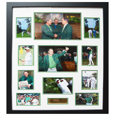 Danny Willett Framed Signed 2016 Masters Display