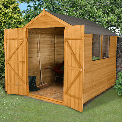Keter manor pent resin outdoor garden storage shed 6 x 4 for Small wooden garden sheds for sale