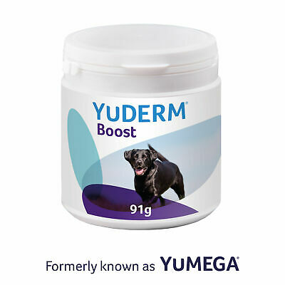 Lintbells Yumega Boost Supplement For Dogs Coat Skin & Nails 91g (180 Scoops)