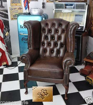 Ohren sessel kamin chesterfield ohrensessel crawford eur for Sessel ohren