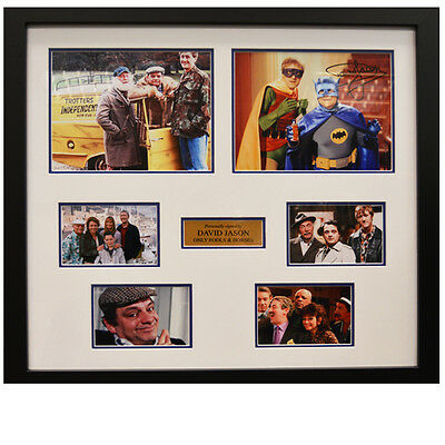 David Jason Framed Signed Only Fools and Horses Display