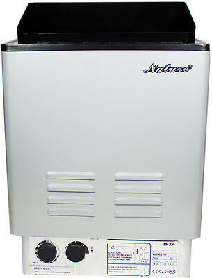 TOUCH PANEL SS-NTB60U 6KW,Steam Generator,Motorized Auto Drain,Stainless Steel