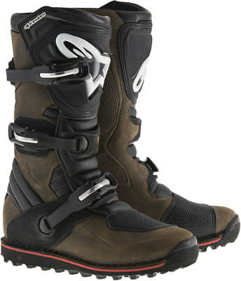 ALPINESTARS Trials Offroad 2017 TECH-T Boots (Brown) Choose Size