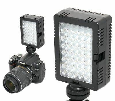 JJC LED-48D Adjustable Compact Macro LED Continuous Ring Light for all DSLR