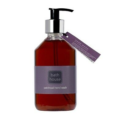 Brand New Patchouli Hand Wash Pump From The Bath House 325Ml Made In Cumbria