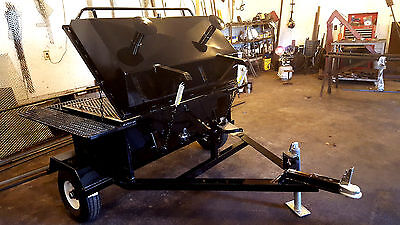 Custom Made Bbq Pig Cooker Smoker *new* & Accessories 4Ft. Cooking Surface!