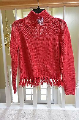My Twinn - Red Knit Sweater -Vintage/Authentic