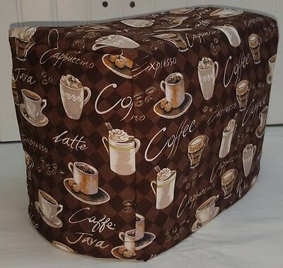 Brown Coffee Toaster Cover