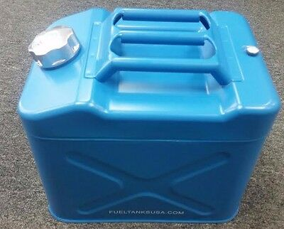 Jerry Can Blue Metal 5 Gallon 20L Gas Can Storage Container Journey AC200020JBL