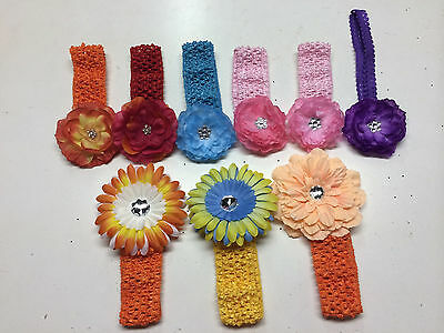 children hairbows mixed stock new 50 pieces