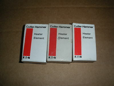 3pcs Cutler Hammer H-10 H10 overload relay element heater NIB 2 lots available