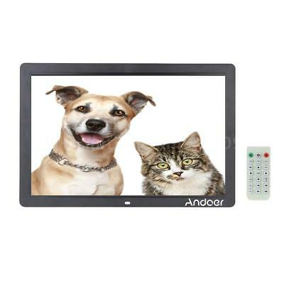 "17"" HD 1080P LED Movie Video Player Digital Photo Picture Frame Remote Control"