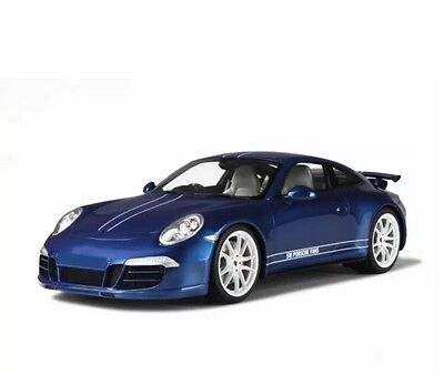 New 1/18 GT Spirit Porsche 911(991) Carrera 4S 5M Fans Blue 1000pcs