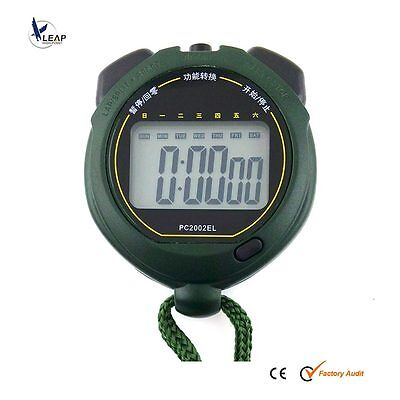 New Extra large display Waterproof Chronograph Digital Stopwatch Watch Timer