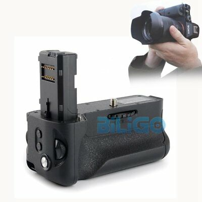 Newest Vertical Battery Grip Can Hold 2x NP-FW50 For Sony A7II A7M2 A7R2 Camera